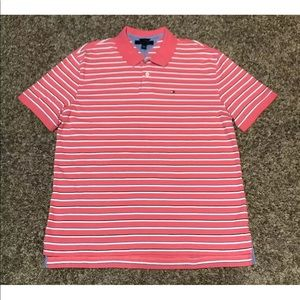 Tommy Hilfiger Men's Polo Shirt Size XL Striped